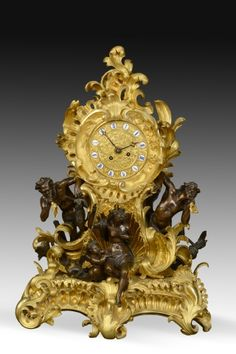 Z. Sierra · Antiques and Decorative Objects · NAPOLEON III ORMOLU AND COATED…