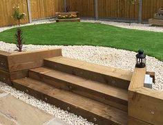 using railway sleepers in garden design - Google Search | garden ...