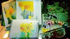 beloved  the old palette filled up with Spring     veredit©isabella.kramer17