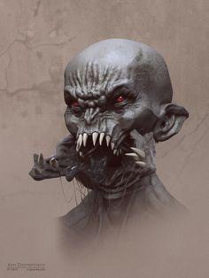 Split Jaw wip by Nero-tbs.deviantart.com on @DeviantArt
