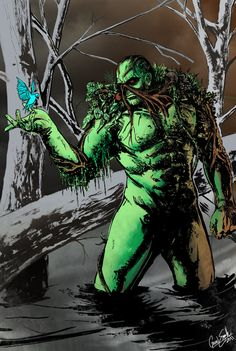 Swamp Thing - Gavin Smith