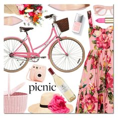 """""""Picnic in the Park"""" by danielle-487 ❤ liked on Polyvore featuring Dolce&Gabbana, Eugenia Kim, Ganni, Couture Colour and Fujifilm"""