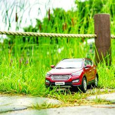Get ready for a new adventure! - 눈 앞에 펼쳐질 새로운 세상을 떠올려 보세요! - #neverstopexploring #lovetotravel #drive #Imjingak #Pyeonghoa_nuri #park #car #carsinstagram #diecast #SantaFe #Hyundai