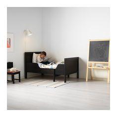 SUNDVIK Ext bed frame with slatted bed base - IKEA
