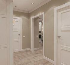 Interior doors - New Deko Sites Home Room Design, Home Interior Design, Living Room Designs, Interior Doors, Home Deco, Hallway Designs, Paint Colors For Living Room, Apartment Interior, House Rooms