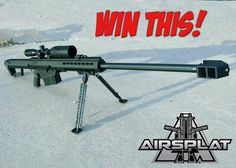 AirSplat: Win A Snow Wolf Airsoft M82