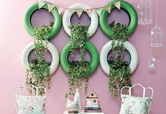 Como usar pneus na decoração - Decoração - Plantas, Flores e Jardins
