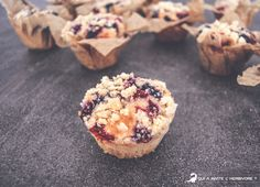 muffin fruits rouges crumble