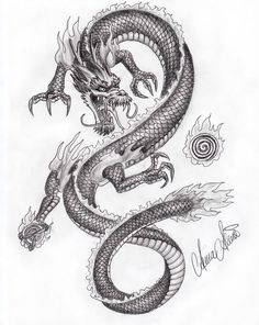 Dragon Tattoo Designs Realistic Lower Back Tattoos Dragon Tattoo Designs Realistic Lower Back Tattoos Olwen Cy Hyon olwencyhyon Olwen Hyon Dragon tattoo designs realistic dragon tattoo designs nbsp hellip Realistic Dragon Drawing, Chinese Dragon Drawing, Japanese Dragon Tattoos, Dragon Drawings, Asian Dragon Tattoo, Realistic Sketch, Kunst Tattoos, Bild Tattoos, Body Art Tattoos