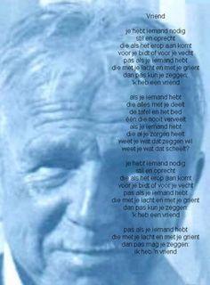 gedicht toon hermans ga nooit heen zonder te groeten - Google zoeken