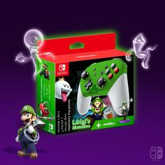 Nintendo Switch with Neon Blue and Neon Red Joy-Con (Discontinued by Manufacturer) Nintendo Switch Accessories, Gaming Accessories, Control Nintendo, Ever After High Games, Lego Custom Minifigures, Nintendo Switch System, Bakugan Battle Brawlers, Luigi's Mansion, Gravity Falls Art