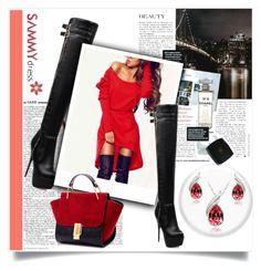 """SammyDress 13"" by zenabezimena ❤ liked on Polyvore featuring Chanel, women's clothing, women's fashion, women, female, woman, misses, juniors and sammydress"