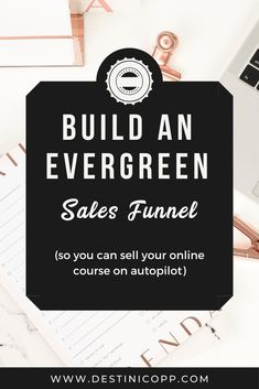 My online course business primarily runs an autopilot. Around once per year, I do a live launch like a virtual summit with a webinar, but for most of the other months, my sales are driven by my evergreen sales funnels.  I will walk you through EXACTLY how to set up an evergreen sales funnel in your own online course business so you can sell your online course on autopilot every single day.   #onlinecoursetips #evergreenfunnel #salesfunnels