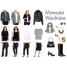 Minimalist Wardrobe: 12 clothing items = 50+ outfits