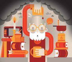 Editorial Illustrations 2012-13 on Illustration Served