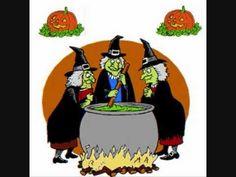 conte d'halloween de citrouilles et de sorcières http://nounoudunord.centerblog.net/ - YouTube