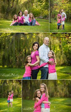 gorgeous family of 4