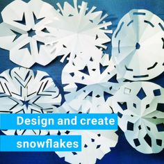Winter STEM with paper snowflakes. Can you design and create a fast falling snowflake? Can you reverse engineer a snowflake? | Meredith Anderson - Momgineer