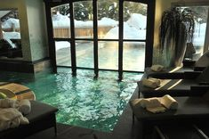 indoor outdoor pool images - Google Search | My Style: Avant-Guard ...