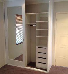Best bedroom closet design built in wardrobe sliding doors Ideas Wardrobe Design Bedroom, Closet Bedroom, Closet Space, Bedroom Storage, Diy Bedroom, Bedroom Small, Bedroom Organization, Bedroom Furniture, Organization Ideas
