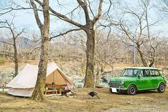 【突撃☆隣のおしゃれさんVol.3】 超コンパクトなクラシックMINIでも最高なキャンプができる! - キャンプ - Funmee!![ファンミ―]