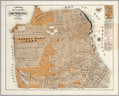 Faust's Map of San Francisco