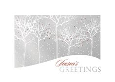 Foil Flurry Seaon's Greetings Holiday Cards for Business https://partyblock.holidaycardwebsite.com/holiday/business-holiday-cards/M1261