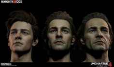 UNCHARTED 4 - Samuel Art Dump by Colin Thomas | Realistic | 3D | CGSociety