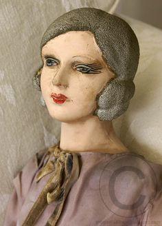 French boudoir doll ...