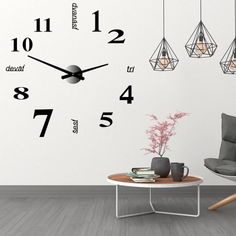Home Office, Luxury, Wall Clocks, Vintage, Space, Google Search, Home Decor, Floor Space, Decoration Home
