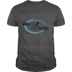 Warp Travel, star trek tshirt. Guys or lady tee $19.00