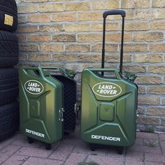 Land Rover - Gas Can Suitcase.