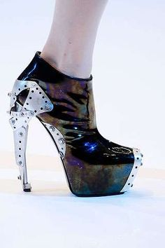 The Remarkable Alexander McQueen Spring 2010 Footwear Collection