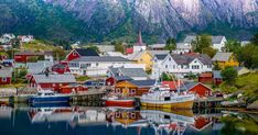 Located in the Arctic Circle, there are many places to visit and things to do in Lofoten Islands you should explore if you decide to visit. Viking Museum, Lofoten Islands Norway, Stuff To Do, Things To Do, Arctic Circle, Famous Places, Sea Birds, Fishing Villages, Tourism