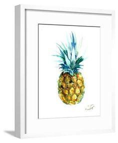 'Pineapple' Art Print - Suren Nersisyan | Art.com Wall Prints, Framed Art Prints, Framed Artwork, Pineapple Art, Find Art, Wall Murals