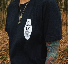 Hallow Collective - Black Lodge Tee front
