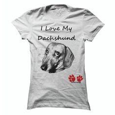 Ladies I Love My Dachshund T Shirts, Hoodies, Sweatshirts. BUY NOW ==►…