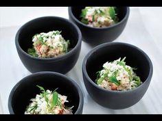 Recept 'Krab met avocado en platte kaas' | njam!