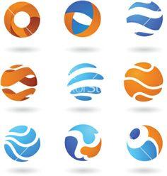 abstract globe logos - Google Search