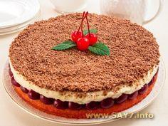 Вишневый пирог Наслаждение
