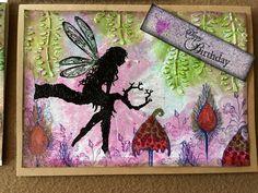 Lavinia fairy stamp. Happy birthday
