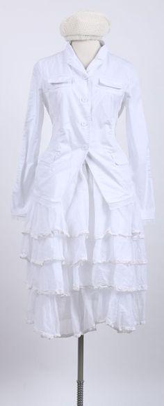 ewa i walla - Volantrock white