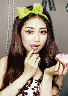RiSE (Miss Kwon Ri-se) formerly of the K Pop band LADIES CODE. It was a little over three years ago, when she and fellow bandmate, EunB, were killed in a road accident. Here are two photos to remember and honour her life. Kwon Ri Se, Fandom, Pop Bands, The Wiz, Korean Girl Groups, Code Code, Hair Makeup, Coding, Kpop