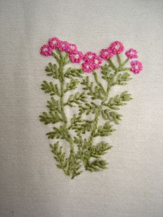 Creatief gerief: Tuinbloemen borduren