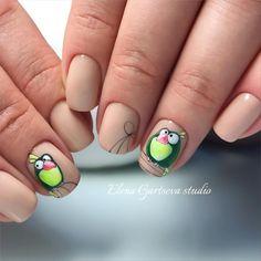 Птицетема продолжается Попугайчик из снегиря Как Вам?    #opi #manicure #рисунок #рисунокМосква #маникюрмосква #росписьногтей #рисунок #росписьногтейМосква #ботаническийсад #Гарцева_Елена #маникюр #ногтимосква #nail #nails #nailart #manicureopi #me #love #колибри #цветы #наращиваниеногтеймосква #наращиваниеногтей #моделированиеногтей #opi #elenagartsevastudio  #попугай #птичка
