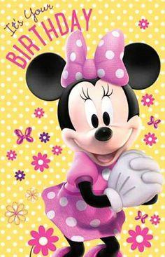It's Your Birthday Disney Birthday Wishes, Happy Birthday Qoutes, Birthday Wishes Flowers, Happy Birthday Wishes Cards, Happy Birthday Girls, Happy Birthday Pictures, Happy 1st Birthdays, Art Birthday, Birthday Emoticons