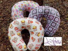 protetores de pescoço corujinhas Excelente para viagens, assistir tv... www.leatelie.com.br contato@leatelie.com.br