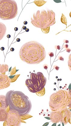 Fond décran blanc avec quelques fleurs et du rose golf, thème automnal. Phone Wallpaper Pink, Iphone Background Wallpaper, Fall Wallpaper, Flower Wallpaper, Screen Wallpaper, Pattern Wallpaper, Flower Backgrounds, Phone Backgrounds, Telephone Vintage