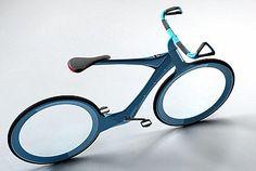 Bike prototype in carbon-fiber frames & electric assist technology. It has a mini-computer counting calories, fingerprint identification,...
