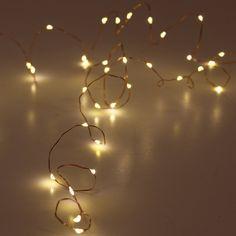Lampki LED z timerem - ozdobne światełka Led - NieMaJakwDomu